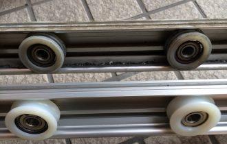 ダイハツ製自動ドア ハンガーレール