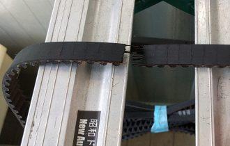 昭和ドアー 自動ドア修理 タイミングベルト交換