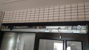 ソリック製自動ドア内蔵片引型