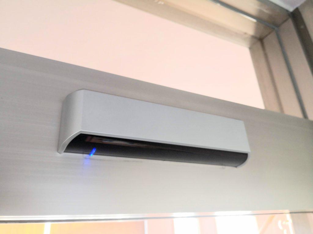 自動ドアのセンサー オプテックスOA-215