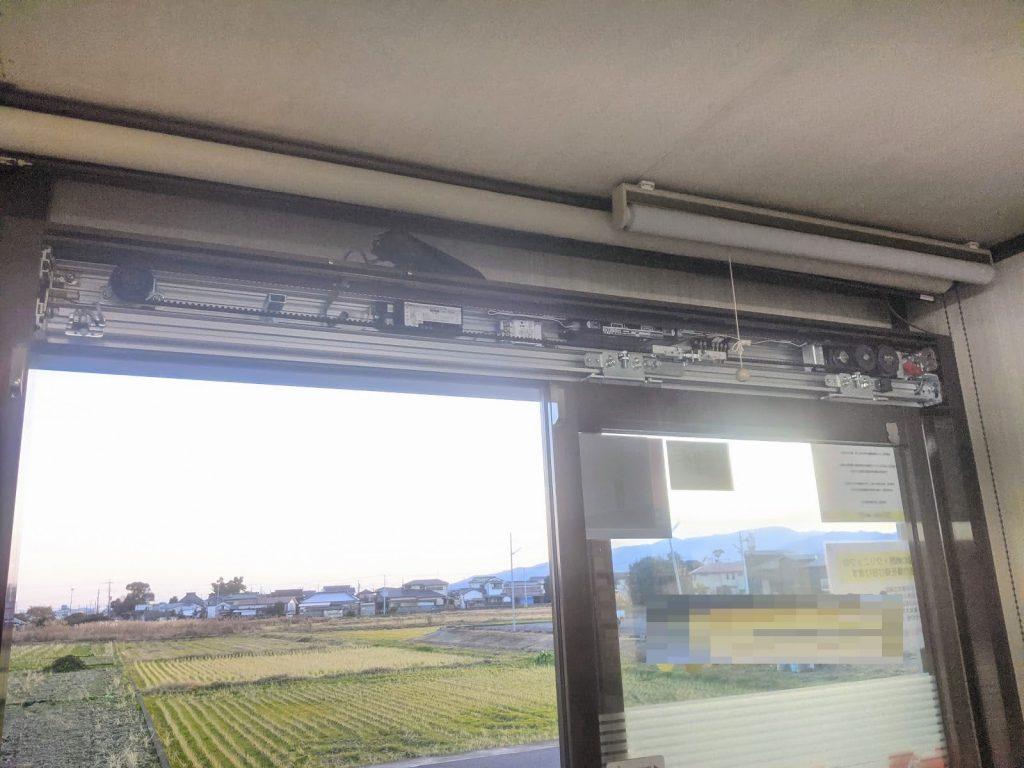 自動ドアエンジン装置の交換ソリック製軽量ドア用