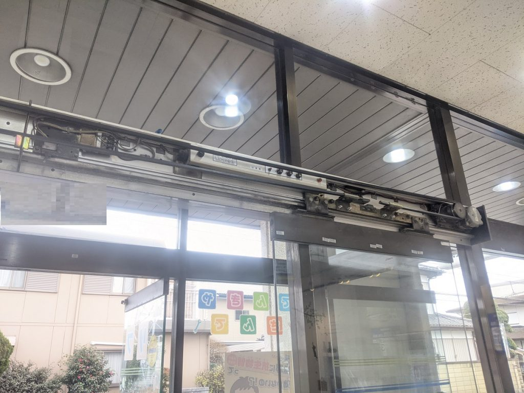 昭和製の古いエンジン装置